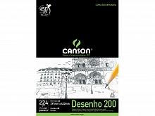 BLOCO DESENHO A-3 200GR BRANCO C/20FLS - CANSON