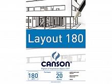 BLOCO DESENHO A-3 180GR LAYOUT BRANCO C/20FLS - CANSON