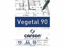 PAPEL VEGETAL A-4 90GR 50FLS - CANSON