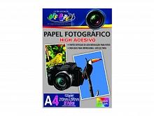 PAPEL FOTOGRAFICO ADESIVO A-4 135GR C/20FLS - OFF PAPER