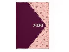 AGENDA 2020 EXECUTIVA ROXO C/ SALMAO CORACOES - DAC