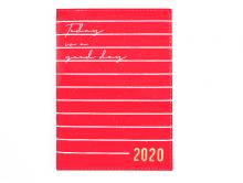 AGENDA 2020 EXECUTIVA VERMELHO C/ BRILHO BROCHURA - DAC