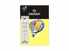PAPEL COLOR CANSON A-4 180GR C/10FLS AMARELO CANARIO-CANSON