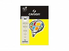 PAPEL COLOR CANSON A-4 120GR C/15FLS AMARELO - CANSON