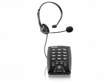 APARELHO TELEF. C/MICROFONE PRETO HST-6000 - ELGIN