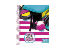 CADERNO UNIV. 20X1 C.D LIKE IT 400FLS - FORONI