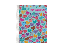CADERNO UNIV. 15X1 C.D POP COLLECTION 300FLS - FORONI