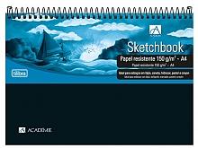 CADERNO UNIV. 1X1 ACADEMIE SKETCHBOOK 150GR C/50FLS-TILIBR