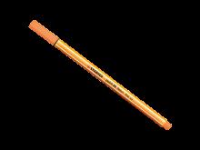 CANETA STABILO POINT 88/054 LARANJA NEON FINE 0,4