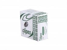 CLIPS P/PAPEL CX C/100UN N. 1 NIQUELADO - ACC