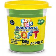 MASSA DE MODELAR SOFT 150G REF101 VERDE - ACRILEX