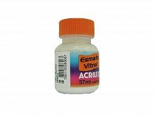 ESMALTE VITRAL 37ML REF.519 BRANCO - ACRILEX