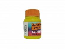 ESMALTE VITRAL 37ML REF.522 AMARELO - ACRILEX
