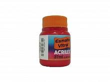 ESMALTE VITRAL 37ML REF.523 VERMELHO - ACRILEX