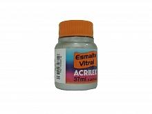 ESMALTE VITRAL 37ML REF.533 PRATA - ACRILEX