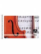 CADERNO ESPIRAL P/MUSICA PEQ. C/48FLS - TILIBRA