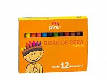 GIZAO DE CERA C/12 CORES - PIRATININGA