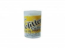 GLITER PVC 015 PRATA 3,0GRS