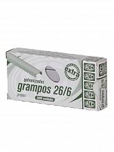 GRAMPO 26/6 CX.C/5000UN ACC ATE 25FLS GALVANIZADO