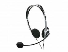 INF.HEADPHONE C/MICROFONE PRETO/PRATA PH002 - MULTILASER