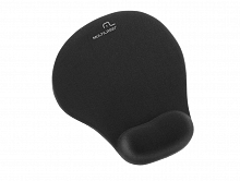 INF.MOUSE PAD APOIO EM GEL PRETO AC021 - MULTILASER