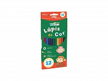 LAPIS DE COR C/12 CORES LEO FLEX