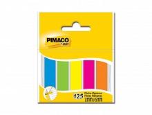 MARCADOR DE PAGINA 12X45MM C/125FLS NEON - PIMACO