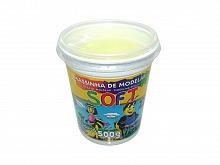 MASSA DE MODELAR SOFT 500GR REF102 AMARELO LIMAO - ACRILEX