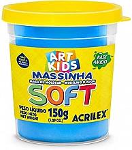MASSA DE MODELAR SOFT 150G REF109 AZUL - ACRILEX