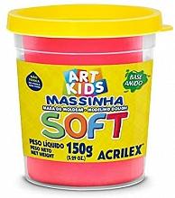 MASSA DE MODELAR SOFT 150G REF103 VERMELHO - ACRILEX