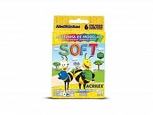 MASSA DE MODELAR C/06 CORES SOFT - ACRILEX