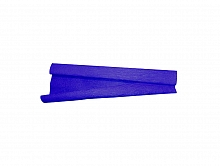 PAPEL CREPOM LISO AZUL ROYAL -  ART FLOC