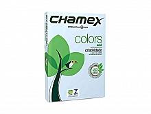 PAPEL SULFITE CHAMEX COLORS AZUL 210X297 C/500FLS