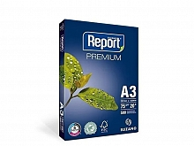 PAPEL SULFITE REPORT 297X420 A3 75GRS C/500F