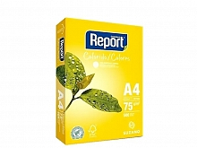 PAPEL SULFITE REPORT COLORIDO AMARELO 210X297 C/500FLS