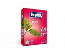 PAPEL SULFITE REPORT COLORIDO ROSA 210X297 C/500FLS