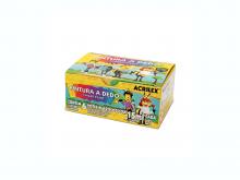 PINTURA A DEDO 06 CORES 15ML - ACRILEX