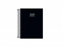 AGENDA 2020 PEPPER PRETA ESPIRAL - TILIBRA