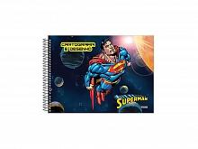 CADERNO CARTOGRAFIA S/SEDA C.D 60FLS SUPERMAN - S.DOMINGOS