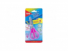 TESOURA TRIS ESCOLAR LEFTY P/CANHOTO CARTELA