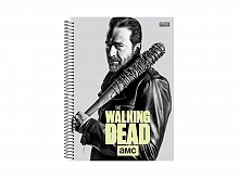 CADERNO UNIV. 15X1 C.D THE WALKING DEAD 300FLS - S. DOMINGOS