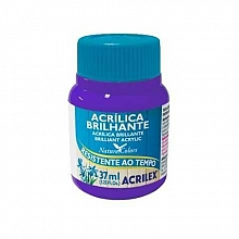 TINTA ACRILICA BRILHANTE 37ML REF.516 VIOLETA - ACRILEX