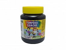 TINTA GUACHE 250ML REF:520 PRETO - ACRILEX