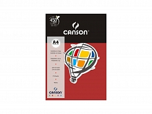 PAPEL COLOR CANSON A-4 180GR C/10FLS VERMELHO ESCURO - CANSO